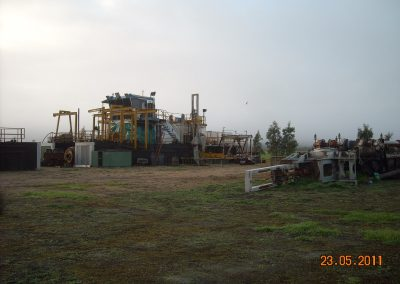 Sand Dredge Relocation